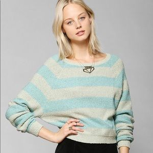 NWT UO Cooperative Shrunken Rugby Sweater